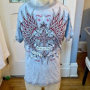 Affliction Live Fast T Shirt